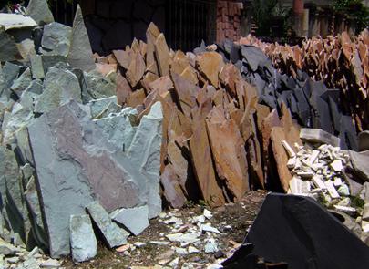Inicio grabado artesanal en laja - Recubrimientos de piedra ...